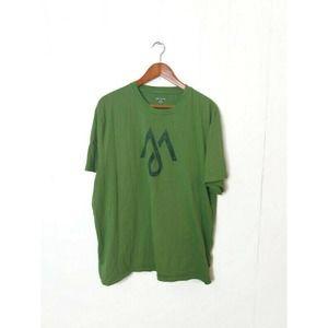 Martin + Osa Men XL Green Logo Graphic T Shirt